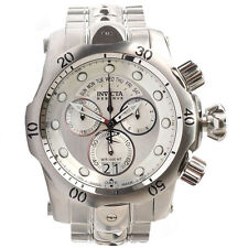 Invicta 1537 Men's Reserve Venom SS Silver Dial Chronograph Dive Watch