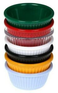 Pack of 4 Round Small Dipping Bowl for Sauces|Ketchup,Mustard,Mayonnaise Sauce
