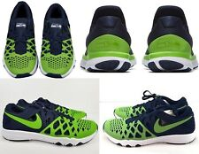 NIKE $140 Train Speed 4 Amp NFL Seattle Seahawks Running Shoes  9.5 Green-Blue