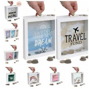 SPLOSH Change Money Box Travel Adventure Fund Tips Gift his&her Pocket Money