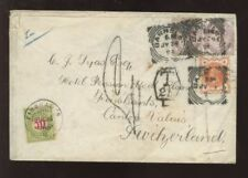 Used Victorian (1840-1901) Cover European Stamps