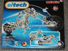 Chopper Motorcycle C15 Eitech Metal Building Construction Toy Steel Model