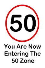 50th Birthday Card - 50