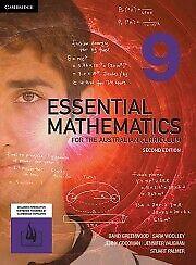 Cambridge Essential Mathematics 9 2nd Second Edition Workbook by Greenwood