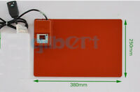 250x380mm 350W Silicone Rubber Heater LCD Screen Separator with Thermostat