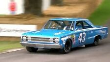 Dodge Chrysler Plymouth GTX Race 1 24 Car 18 1966 64 Vintage 12 Carousel Blue 43