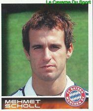 345 MEHMET SCHOLL DEUTSCHLAND FC BAYERN MÜNCHEN STICKER BUNDESLIGA 2001 PANINI