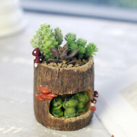 Resin Flower Pot Planter Holder Succulent Plants Pot Home Garden Desk Decoration
