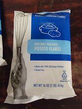 Set of 20 Basic American Foods Instant Mashed Potato Flakes (Lot of 20 x 16 oz)