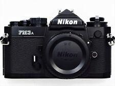 ** NEW UNUSED ** Nikon FM3A 35mm Black Camera Body W/ MF-16 DATA Back