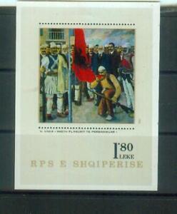 Super Briefmarken-Bllock aus Albanien, MI Bl. 73 postfrisch