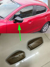 Side Mirror Cover for 2015-2017 Mazda 2 DEMIO Hatchback Rearview Decoration