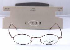 New Oscar De La Renta Men's Oval  Vintage Retro OS103  45-18-145 Sand (078)