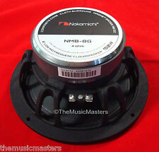 "(1) Single 8"" inch High Performance Car Audio HQ Woofer Sub Mid Stereo Speaker"