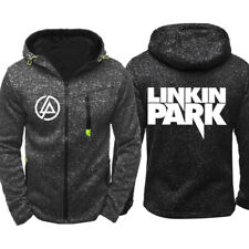 LINKIN PARK Fans Hoodie Warm Jacket Sport Sweatshirt Full-Zip Coat Spring COAT
