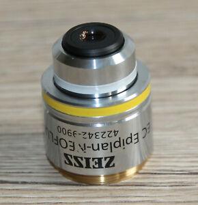 Zeiss Mikroskop Microscope Objektiv EC Epiplan-NEOFLUAR 10x/0,25 DIC (422342)