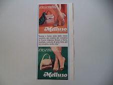 advertising Pubblicità 1967 MELLUSO