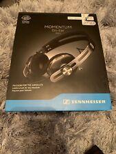 Sennheiser Momentum 2.0 On-Ear Wired Headphones For iPHONE - Black