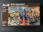 1/35 Revell 02451 WWI Infantry German/British/French (1914)