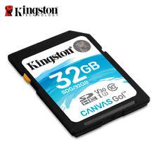 Kingston Canvas Go! 32GB SDHC Class 10 SD Memory Card V30 UHS-I U3 90MB/s