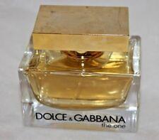 The One Dolce & Gabbana 75 ML 2.5 OZ EDP EAU DE PARFUM 99.99% FULL