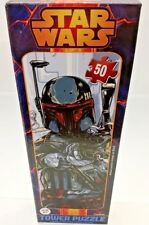 Disney Star Wars Boba Fett Puzzle 100 pieces Age 6+ Awesome Tower Puzzle