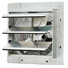 "iLIVING - 10"" Wall Mounted Exhaust Fan, Silver (ILG8SF10V)"