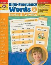 NEW High-Frequency Words: Stories and Activities, Level A by Evan Moor