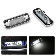 2PCS LED Kennzeichenbeleuchtung für Mercedes Benz C E CLS Klass W203 W219 W211