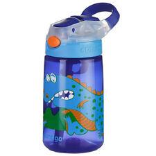Contigo Gizmo Flip Autospout 420ml Kids Water Bottle Spill/Leak Proof Dinosaur