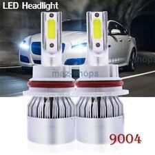 COB 9004 Led Headlight Bulbs Fit For 2000 Dodge Ram 1500 High Low Beam 6000K x2
