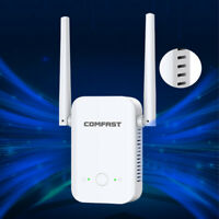 300M WiFi Extender Wireless-N Range 802.11Network Repeater Signal Booster 2.4G