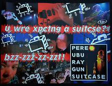 Pere Ubu Ray Gun Suitcase 1995  original poster!!!