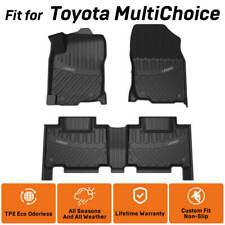 For Toyota Camry Corolla Tundra Highlander Rav4 Floor Mat All Weather Waterproof