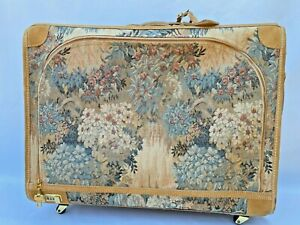 Vintage Paradise Tapestry Large Suitcase By The French Company