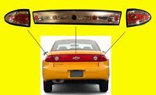 Chevrolet Cavalier Clear Tail Lights & Rear REAR Brake Light Kit 2003-2005