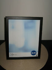 """Classic Wood 8"""" x 10"""" Black Picture Frame--Freestanding or Wall Mount Vert/Horz"""