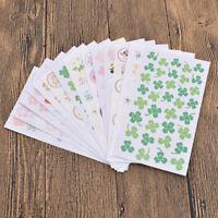 Für Tagebuch Kalender Sticker Deko DIY Blume Scrapbooking Aufkleber Geschenk Neu
