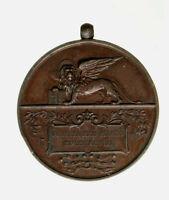 s735_3) Medaglia Venezia 1898 - ANNIVERSARIO MOTI VENEZIANI AE - Op: JOHNSON