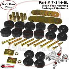 Prothane 7-144-BL Body Mount Bushings Kit 59-64 Chevrolet Impala/Belair Hardtop