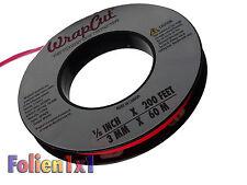 0,38€/m 60 m x 3mm WrapCut™ Knifeless Tape safely cut bei Folien Vollverklebung
