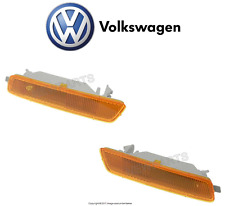 For VW Golf 10-14 Jetta Pair Set of Front Left & Right Marker Lights Genuine NEW