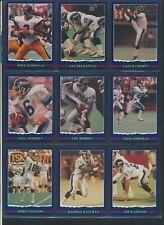 1989 JOGO SeriesI& II CFL Football Cards #1-54MINTU-PickAllen Dunigan Ham