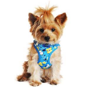 Doggie Design Wrap and Snap Choke Free Dog Harness - Hawaiian Blue Clearance