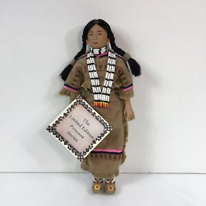 "Sandy Dolls Comanche Princess Laughing Brook Limited Edition 2292 11"" R. Tejada"