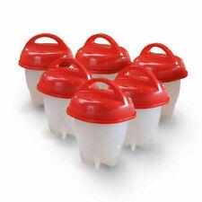 Bollitore Per 6 Uova Sgusciate Cuoci Uova In Silicone Uova Sode Frittata Fitness
