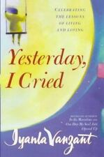 Yesterday I Cried by Iyanla Vanzant paperback book FREE SHIPPING Living Loving