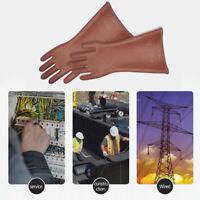 Insulating Safety Work Gloves 12kv High Voltage Rubber Labor Protective Gloves