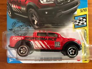 NEW 2020 Hot Wheels '19 Ford Ranger Raptor 4x4 Speed Graphics Series RARE Racing