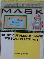 Eduard 1/72 CX094 Canopy Mask for the Italeri/Revell H-19/S-55 Chickasaw kit